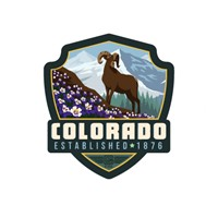 Columbine CO Emblem Sticker