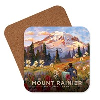 Mount Rainier Moment in the Meadow Coaster