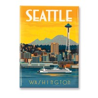 WA, Seattle Ferry Magnet