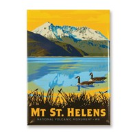 WA, Mount St. Helens Magnet