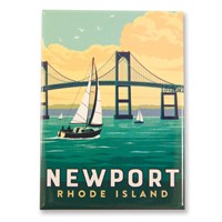 RI Newport Bridge Magnet