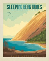 "Sleeping Bear Dunes National Lakeshore 8"" x10"" Print"