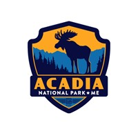 Acadia Moose Emblem Sticker