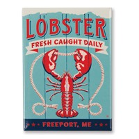 ME Lobster Freeport Magnet