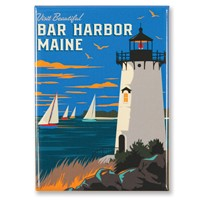 Visit Beautiful Bar Harbor Magnet