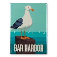 Gull Bar Harbor Magnet