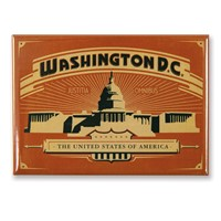 Washington, DC Red Capital Magnet