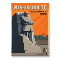 Washington, DC MLK Jr. Memorial Magnet