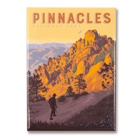 Pinnacles High Peaks Trail Magnet
