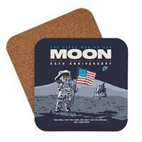 50th Anniversary Man on the Moon Coaster