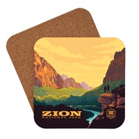 Zion 100th Anniversary Coaster