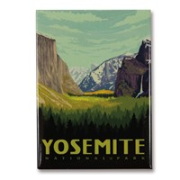 Yosemite Valley Vertical Magnet