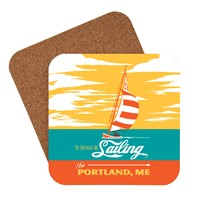 I'd Rather Be Sailing in Portland, ME Coaster