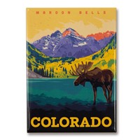 CO Maroon Bells Magnet