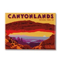 Canyonlands Mesa Arch Magnet