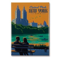 NYC Central Park Bench Magnet