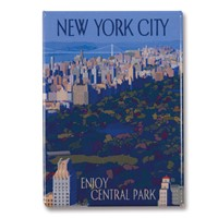 NYC Enjoy Central Park Magnet