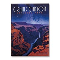 Grand Canyon Star Gazing Magnet