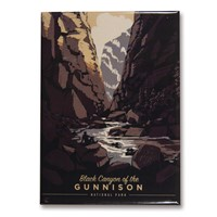 Black Canyon Shadowlands Magnet