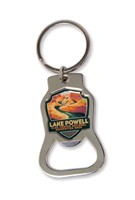 AZ/UT Lake Powell Emblem Bottle Opener Key Ring
