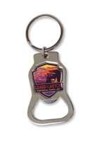 Grand Canyon Landscape Emblem Bottle Opener Key Ring