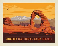 "Arches Horizontal 8"" x10"" Print"