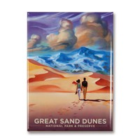 Great Sand Dunes Sands of Times Magnet