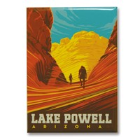 Lake Powell, AZ Hikers Magnet