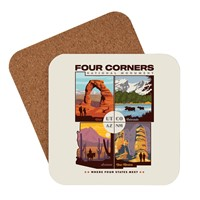 Four Corners National Monument Coaster