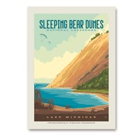 Sleeping Bear Dunes National Lakeshore Vert Sticker