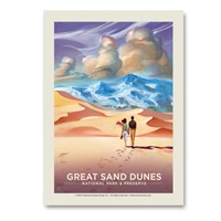 Great Sand Dunes Sands of Time Vert Sticker
