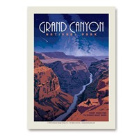 Grand Canyon Star Gazing Vert Sticker