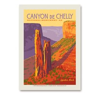 Canyon de Chelly National Monument Vert Sticker