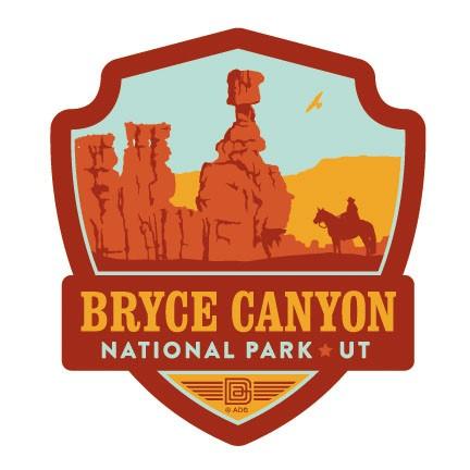 Bryce Np Emblem Sticker American Made